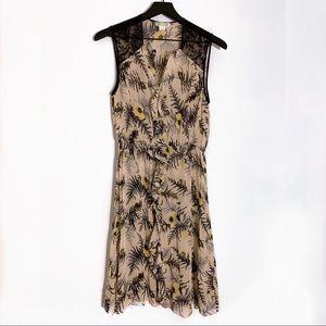 Lil | Anthropologie Tassel Fronds Floral Dress 4